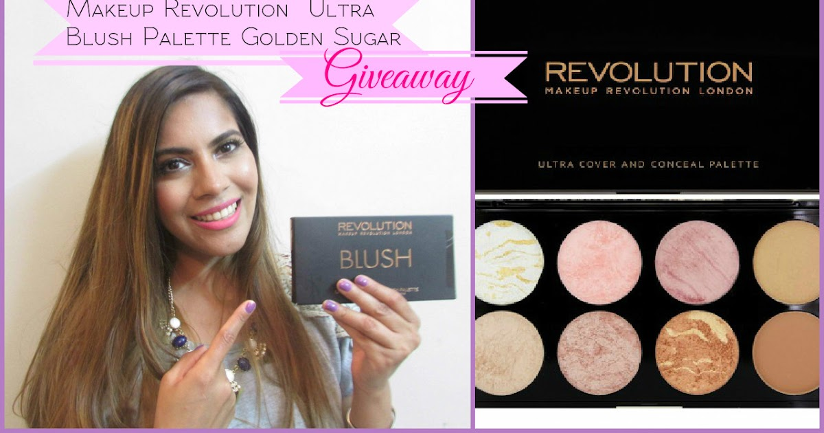 Friendship Day Giveaway Win Makeup Revolution Ultra Blush Palette