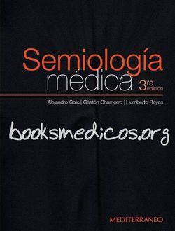 Semiología médica goic, chamorro 3ª edición | booksmedicos.