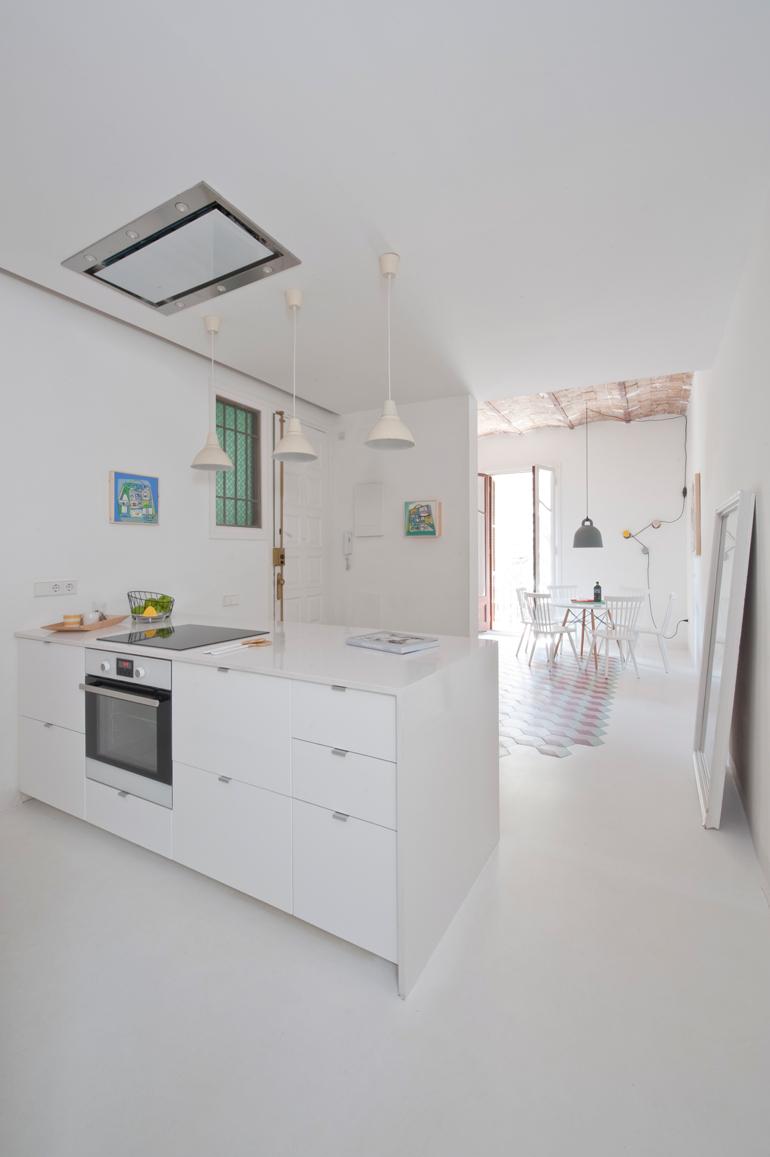 cocina apartamento colorista