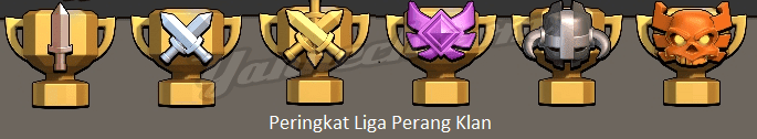Hadiah War Liga Clash of Clans
