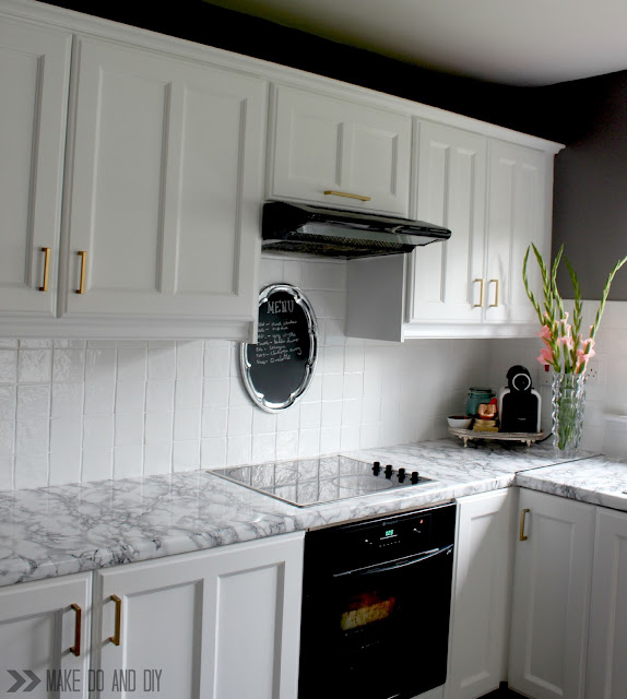 Marble Contact Paper Countertops