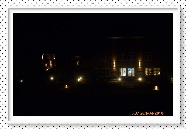 Romantische Beleuchtung im Landhaus in der Wische