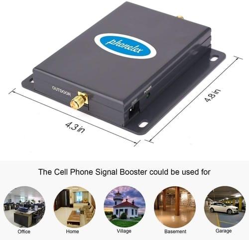 PHONELEX Verizon Signal Booster 4G LTE Band13 700Mh