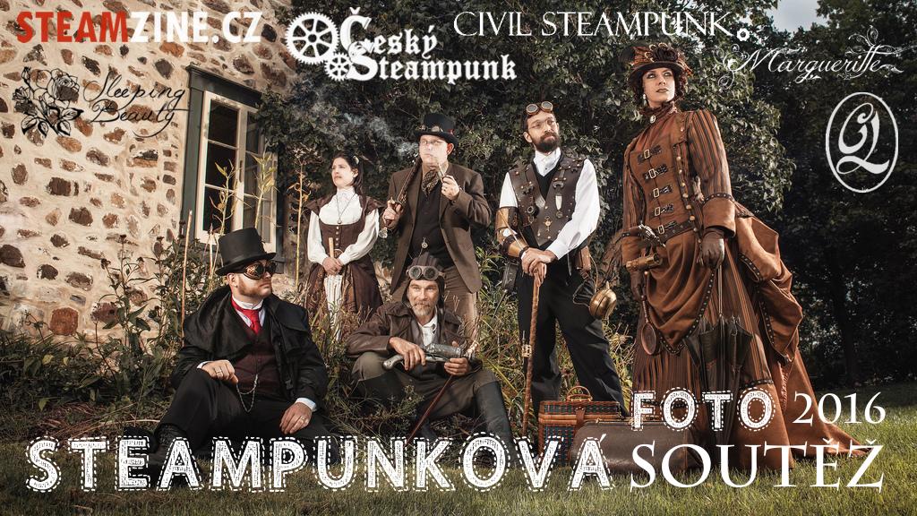 Steampunková fotografická soutěž 2016 - STEAMZINE.CZ