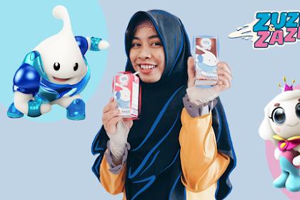Zuzhu dan Zazha, Karakter Animasi Edukasi dari Frisian Flag Indonesia