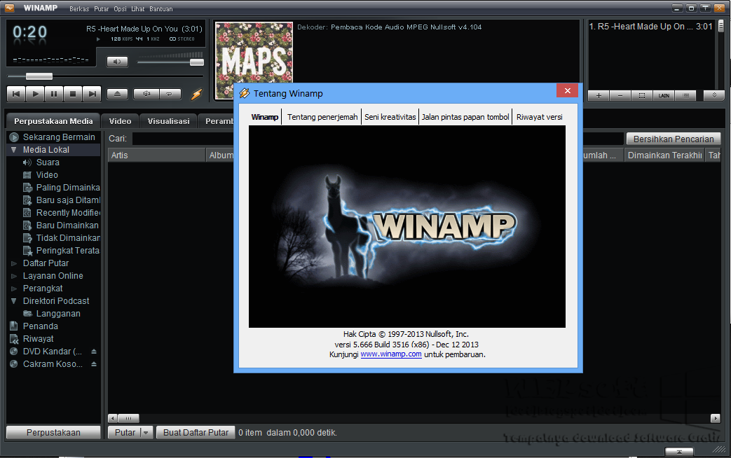 Winamp 5.666 | WEPSOFT