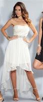 Embellished Drop Back Dress By AX Paris