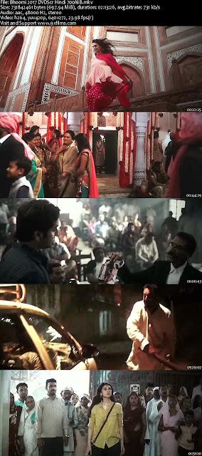 Bhoomi 2017 DVDScr Hindi 700MB