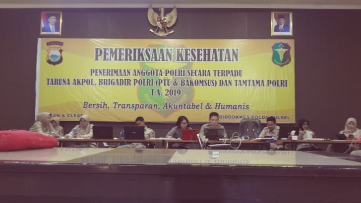 Akp dr Dian Kartika Sari Pimpin Penginputan Hasil Rikkes Casis Bintara 2019