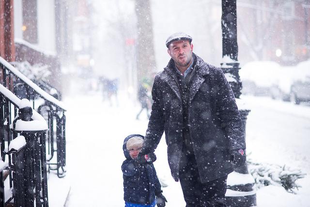 sníh_v_Brooklynu
