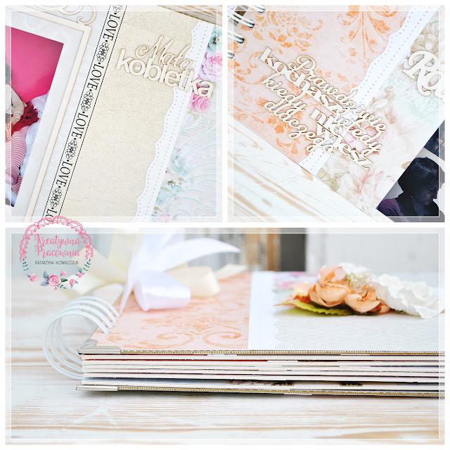 rocznica ślubu, album na zdjęcia, scrapbooking, handmade