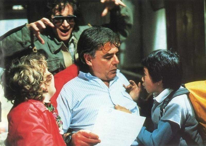 photo of the day, the goonies, richard donner, steven spielberg,
