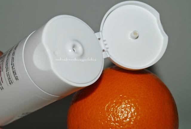 loción tónica naranja nuxe