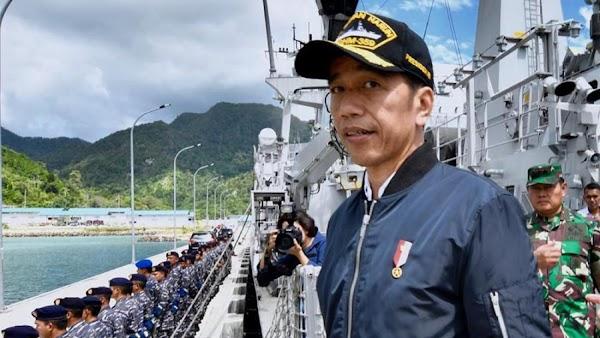 Aneh, Jokowi Sebut Tak Ada Kapal China di Natuna
