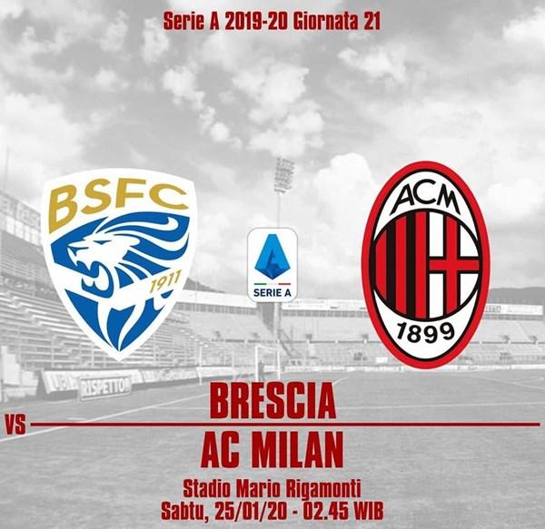 Fakta Pertandingan Brescia vs AC Milan-IGmilanistidemak