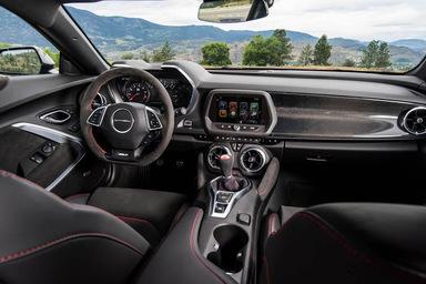 Chevy Camaro ZL1 interior
