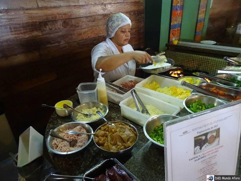 Tapioqueira no Café da manhã - Onde ficar em Salvador (Bahia) - review Gran Hotel Stella Maris Resort
