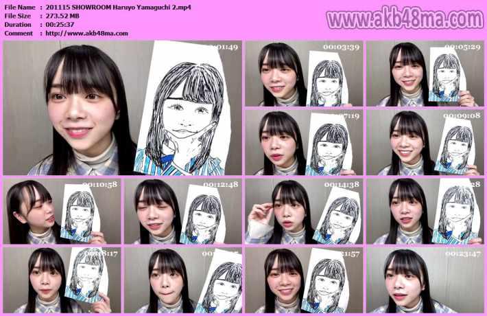 201115 SHOWROOM Haruyo