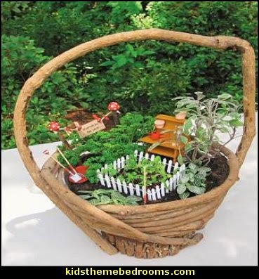 Miniature Gardens: Design and create miniature fairy gardens,