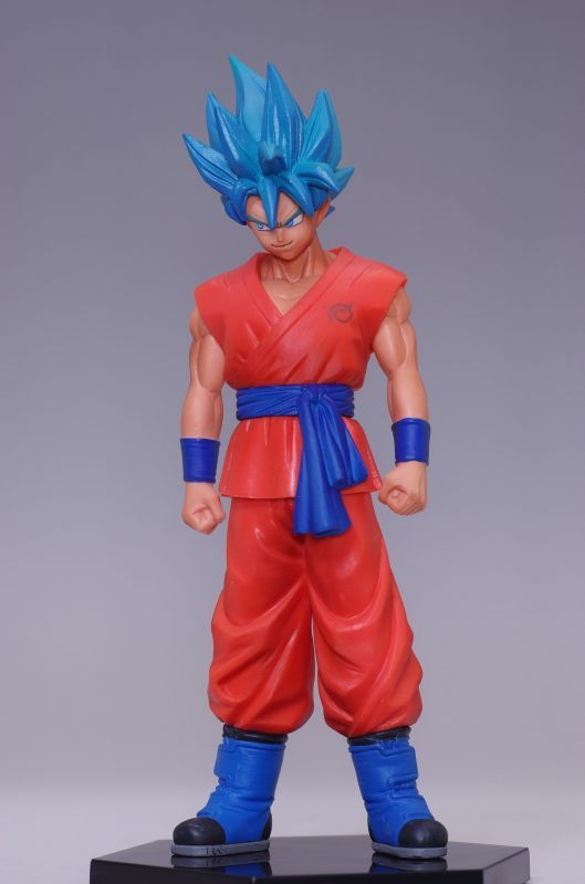 Jual Action Figure Dragon Ball Z Revival of F - Son Goku Super Saiya God SS Special Figure vol.1