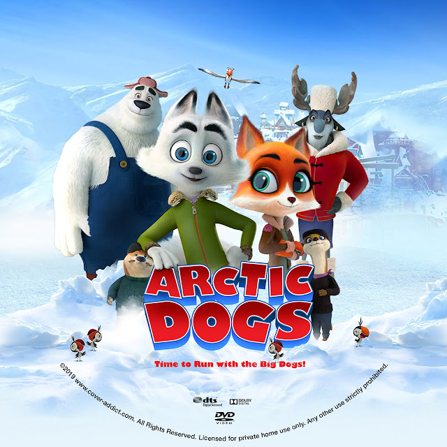 Arctic Dogs (Arctic Justice) DVD Label