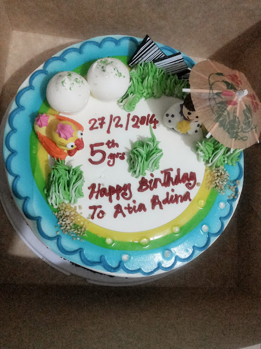 Atia Adina: Happy Birthday To Atia Adina