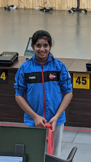 Delhi's Little Shooter Prarthna Khanna Qualified for National Selection Trials