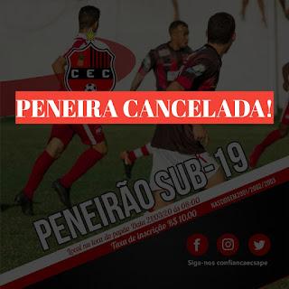 Confira: O Confiança Esporte Clube de Sapé emite nota