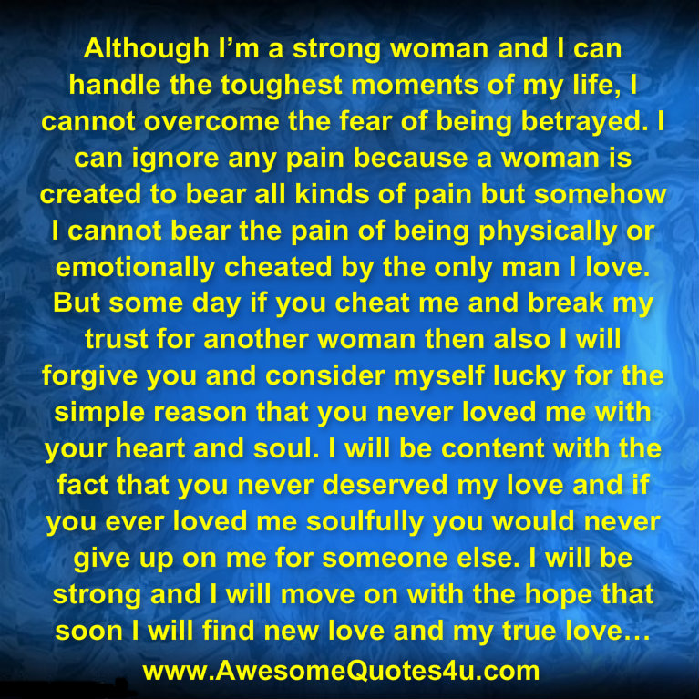 Im A Strong Woman Quotes: Awesome Quotes: I'M A STRONG WOMAN
