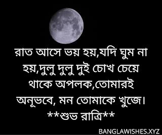 বাংলা শুভ রাত্রি এসএমএস