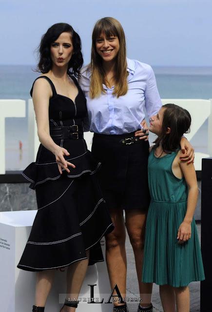 Eva Green y Alice Winocour Donostia