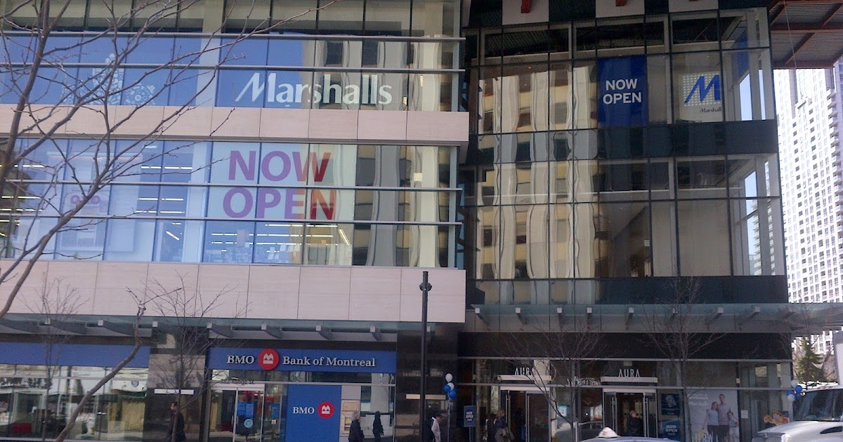 Aura Condos In Toronto Aura Welcomes Marshalls To Yonge St