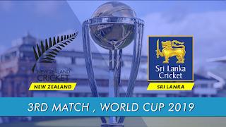 Cricket Highlightsz - Sri Lanka vs New Zealand 3rd Match ICC World Cup 2019 Highlights