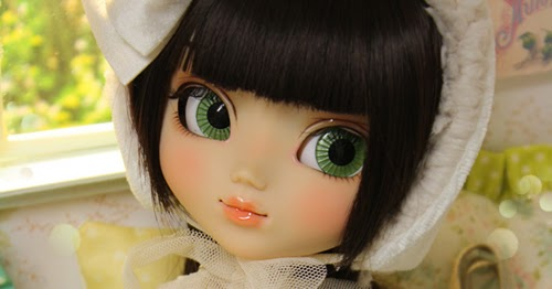 Nerea Pozo Art Custom Pullip Doll Emilia Mint