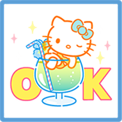 Hello Kitty's Summer Stickers