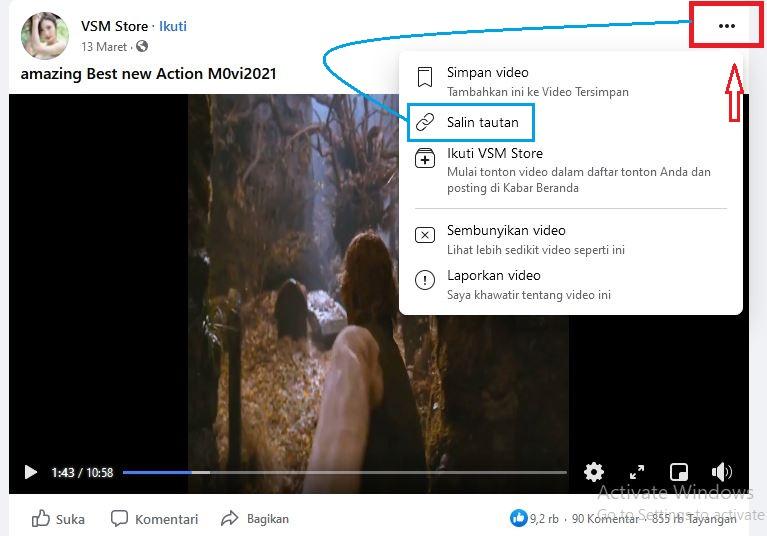 video facebook download
