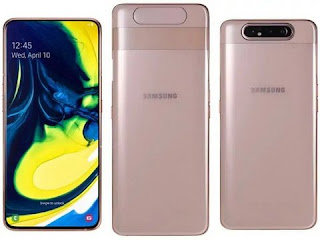 Samsung Galaxy A80 Smartphone with pop-up rotating camera will launch in India