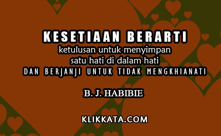 Kata Kata B. J. Habibie