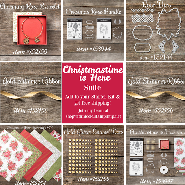 Stampin' Up!'s Christmastime is Here product suite images - shop with Nicole Steele The Joyful Stamper