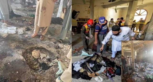 Bomb Blast in Peshawar Madrasa, 7 died and 110 injured