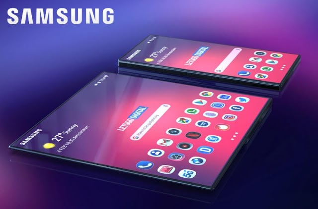Samsung may work on a new phone with a curved screen