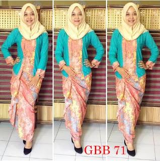 model rok batik span panjang