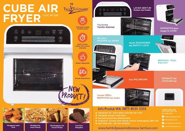 Spesifikasi dan Kegunaan Cube Air Fryer