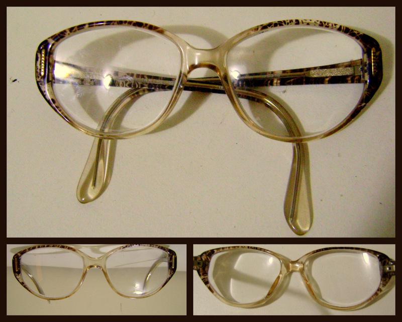 Garimpe Bazar- seu brechó virtual!  Armação de óculos vintage- VENDIDA 40eecaee43