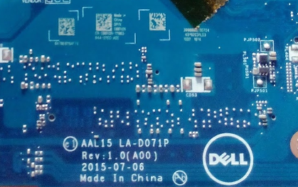 LA-D071P Rev1.0 AMD Dell Inspiron 5559 Laptop Bios