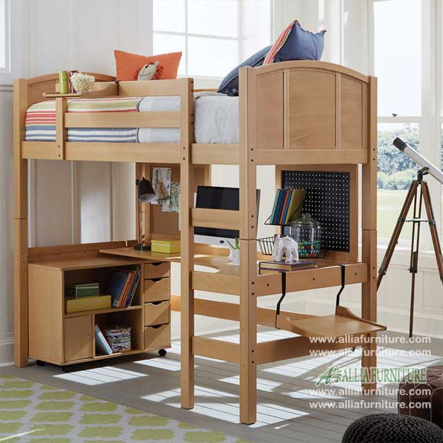 tempat tidur susun anak model miami