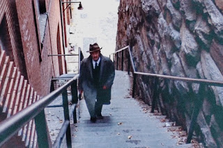 The Exorcist stairs scene