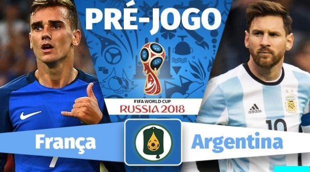 Assistir Jogo França X Argentina Ao Vivo pela Copa do Mundo Rússia