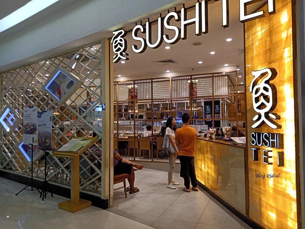 Sushi Tei Centre Point Medan Makin Pede Dengan Logo Halal
