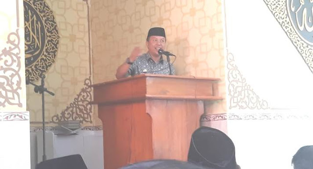 "MBA Resmikan, Mesjd "" Ali Marjan ""Benteng Selayar"